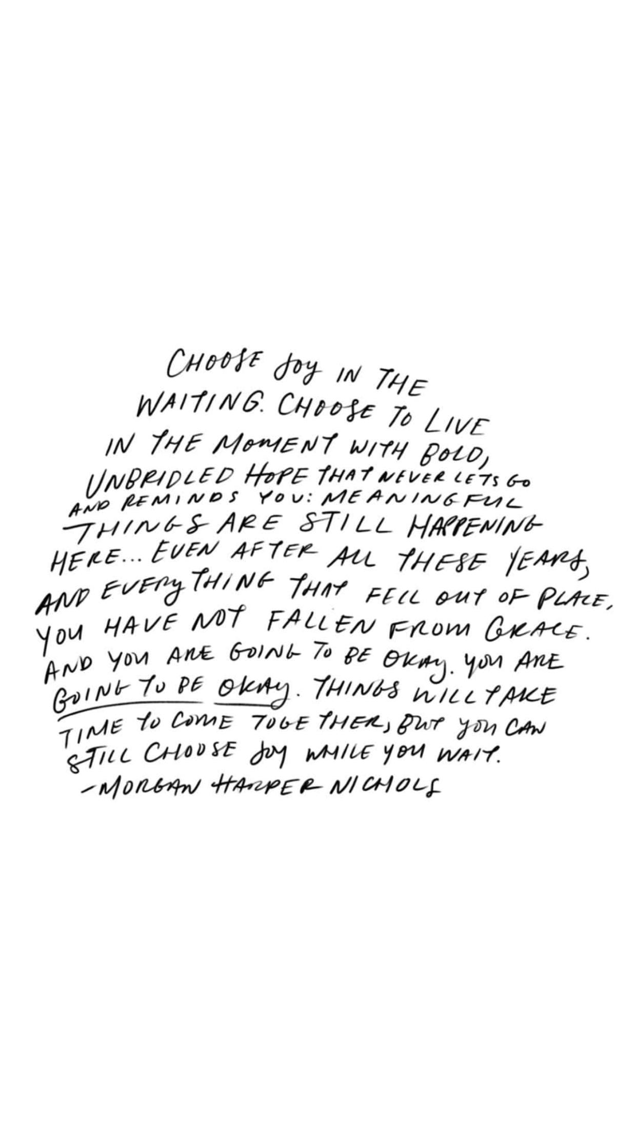 Morgan Harper Nichols Joy Quotes Choose Joy Quotes Cool Words