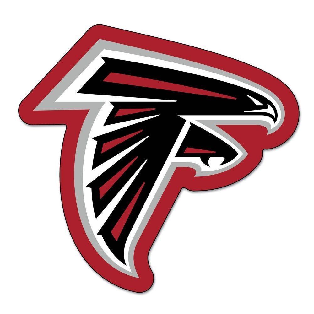 Atlanta Falcons Nfl Automotive Grille Logo On The Gogo Atlanta Falcons Logo Atlanta Falcons Football Atlanta Falcons