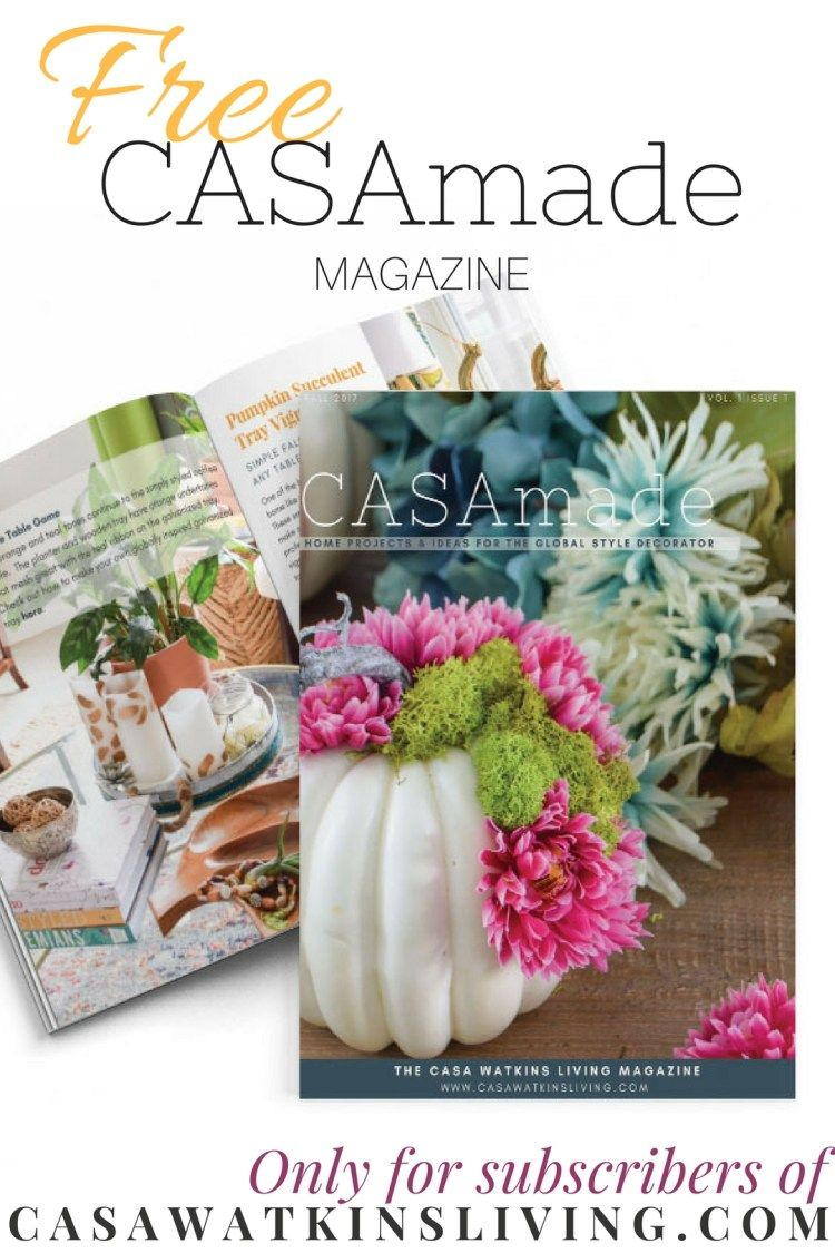 Art Et Decoration Magazine Subscription The New And Free Casamade Magazine Best Of Casa Watkins