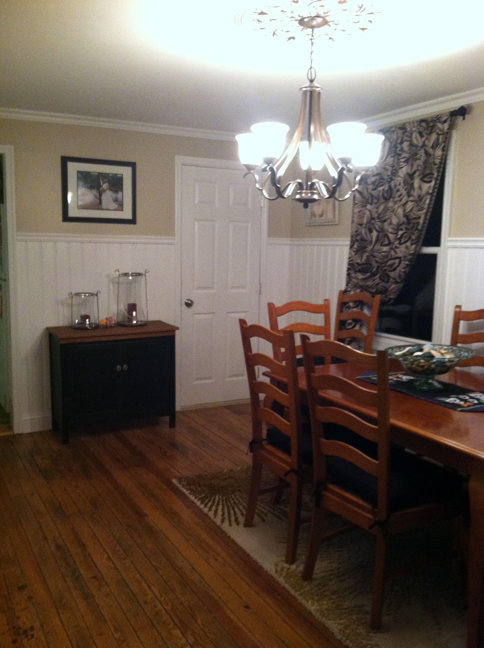 beadboard in dining room | Beadboard Dining Room | Decor | Pinterest