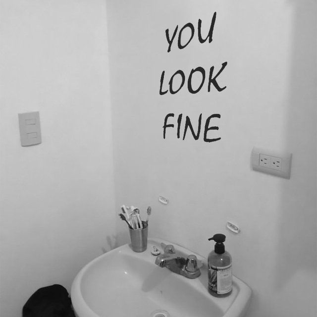 Funny Put This Up Where A Mirror Usually Is Fancy You Look - How to put a wall decal up