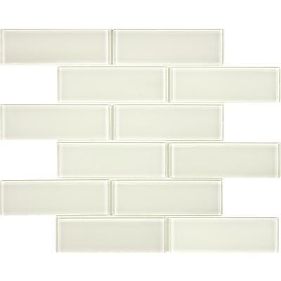 Pleasing Sassi 2X6Coastal Ivory Glass Brick Mosaics 12 184 Home Download Free Architecture Designs Scobabritishbridgeorg