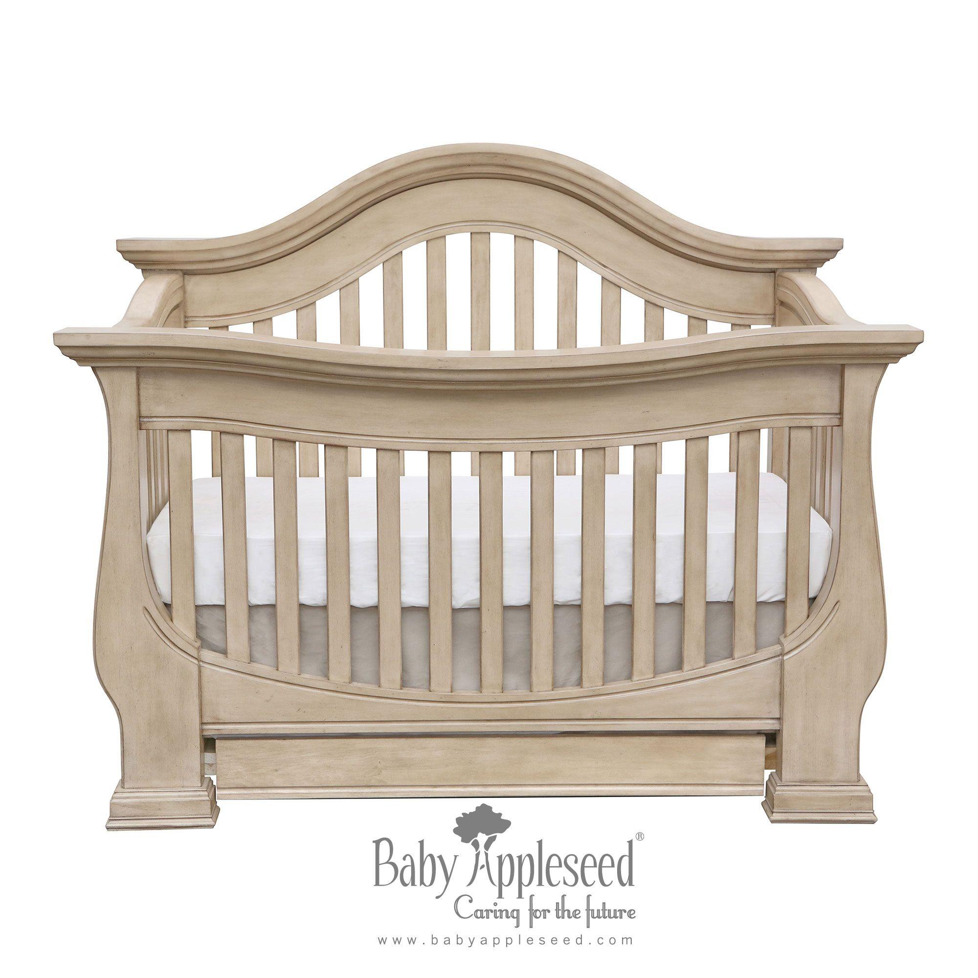 Crib for sale kelowna - Davenport Convertible Crib In Vanilla Truffle
