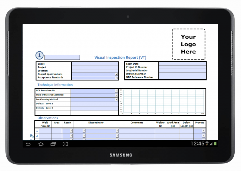 PDF Mobile Forms Integration for Field Service (With
