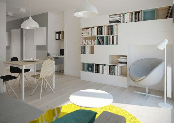 Apartment design inspiration for those with a really small space we feature four options for apartments under 50 square meters