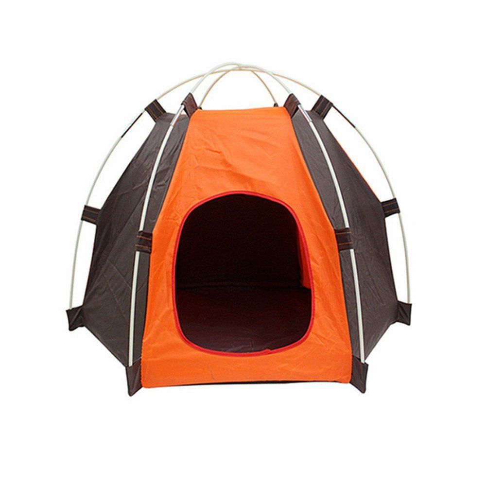 Lifeunion Portable Folding Dog House Sun Beach Tent for IndoorOutdoor Waterproof Pet Tent Dog Bed Crate for Summer Small Size Dogs and Cats u003eu003eu003e You can get ...  sc 1 st  Pinterest & Pup-Tent PYURS Pet Camp Tent Foldable Dog Bed House for Puppy Dog ...