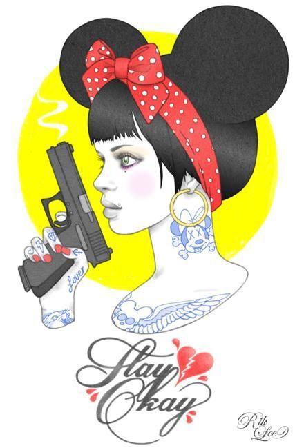 Tattoo Illustrations by Rik Lee | Rik lee, Ilustração e Fotos