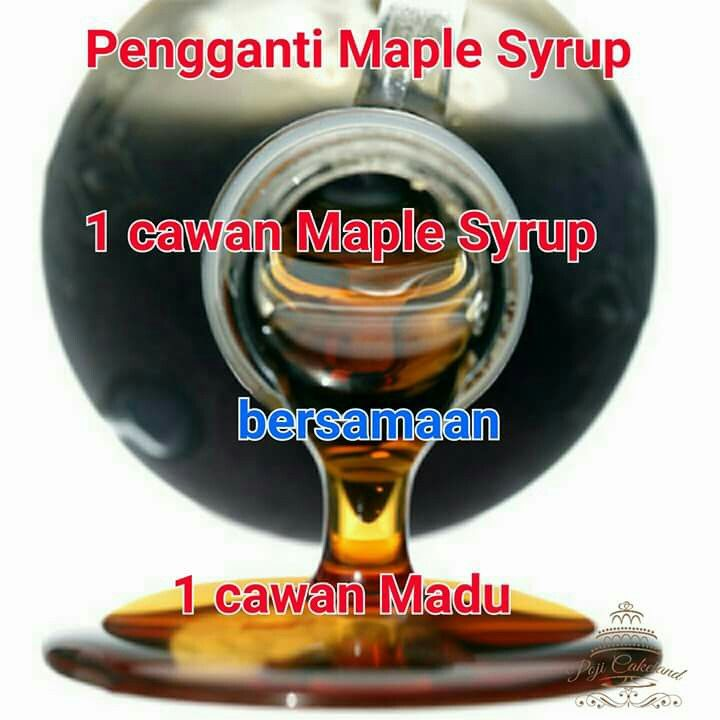 Subtitute Pengganti Maple Syrup Baking Substitutes Diy Food Recipes Homemade Spices