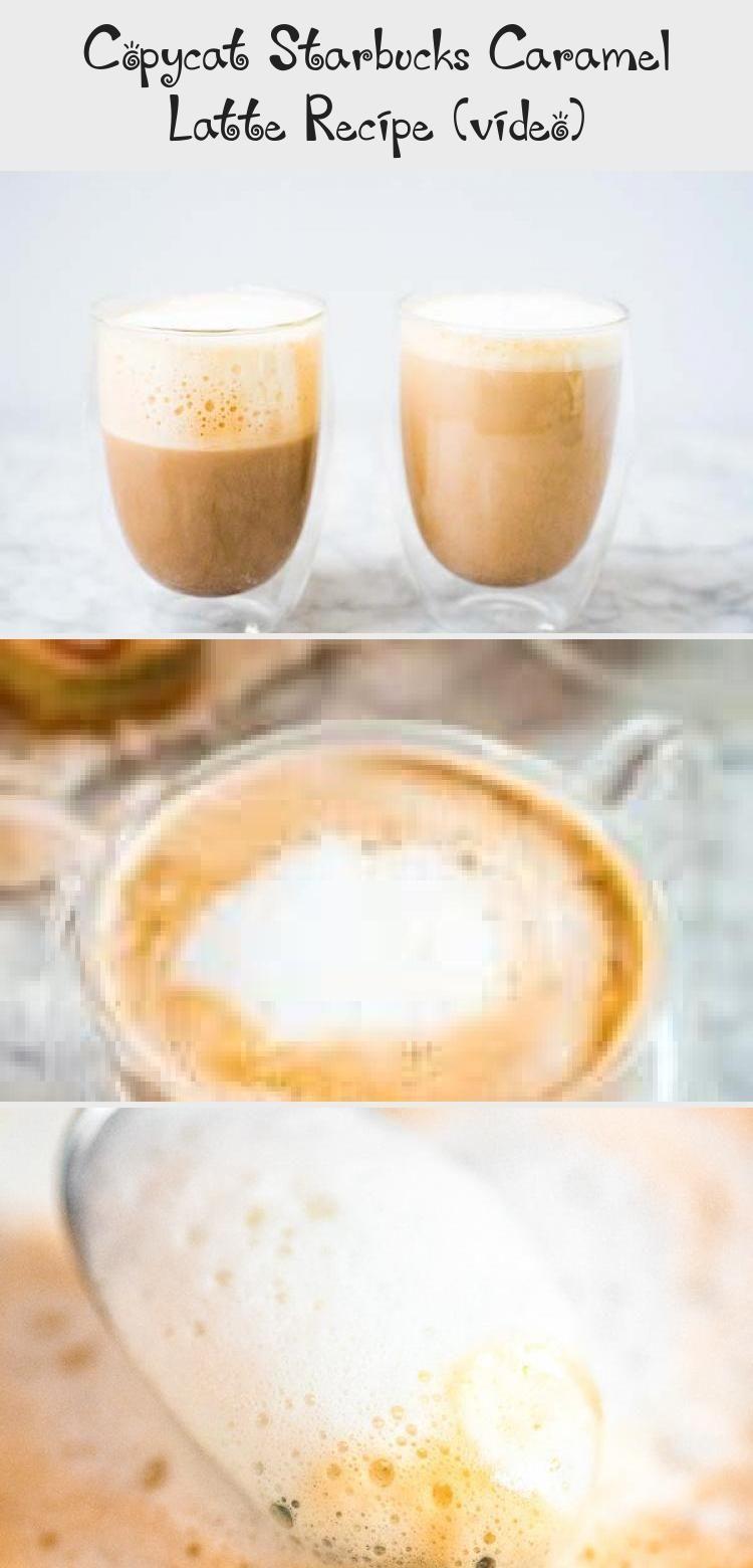 Photo of Copycat Starbucks Caramel Latte Recipe (video) – COFFEE