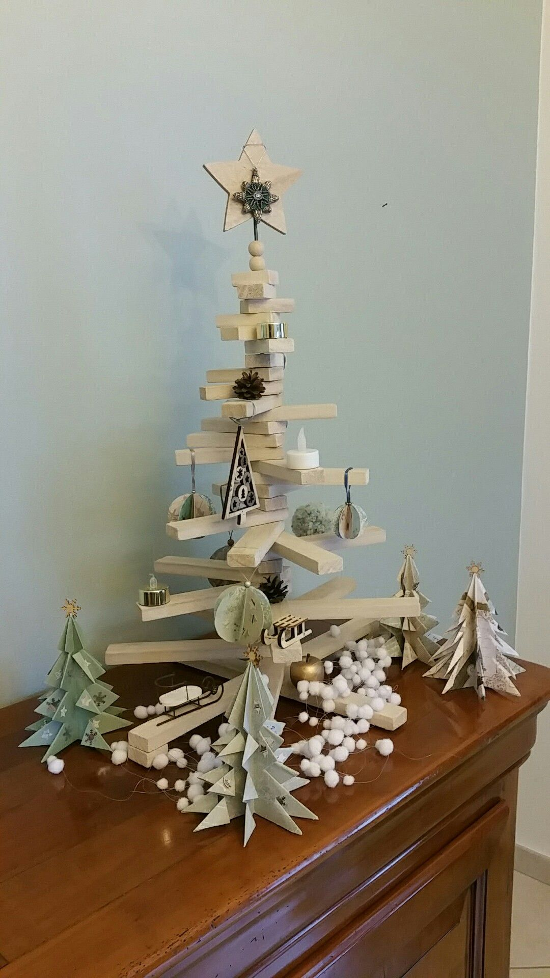 Forêt Noël diy Diy noël, Noel, Deco