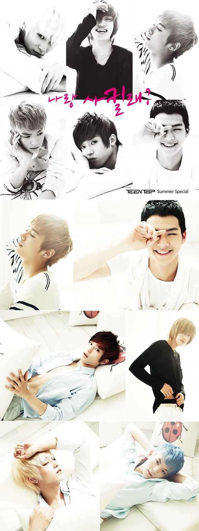 멜론 뮤직스토리 :: 데뷔 3주년 틴탑(TEEN TOP)