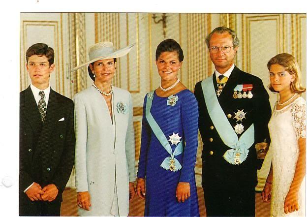 Queen Silvia, July 14, 1995