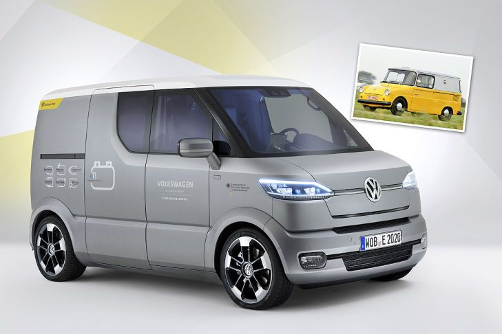 Nieuw. VW postauto.