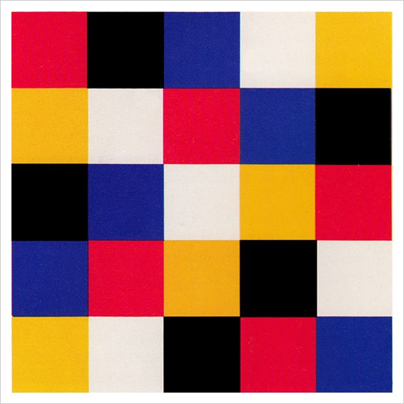 Contrast of Hue. ITTEN The Elements of Color, 1970