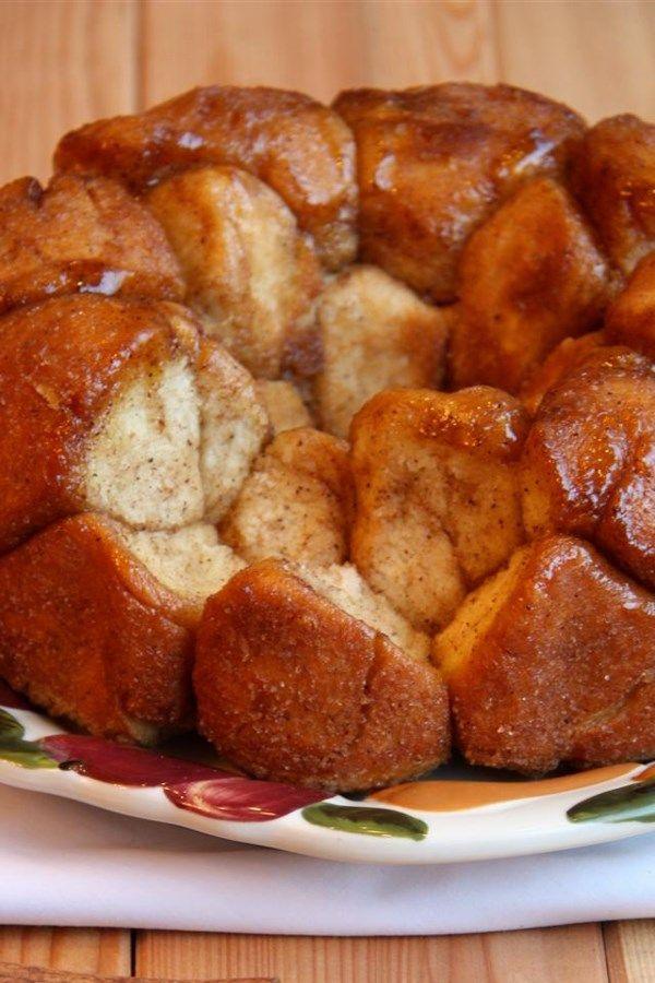 Monkey Bread From Scratch Gooey Caramelized Monkey Bread