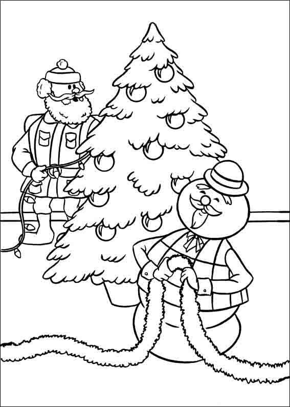 Worksheet. Dibujos para Colorear Rudolph el reno de la nariz roja 10
