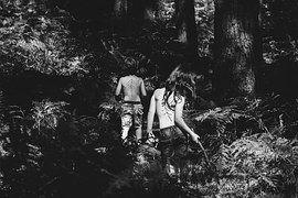 Niños, Selva, Bosque, Silvestre, Safari