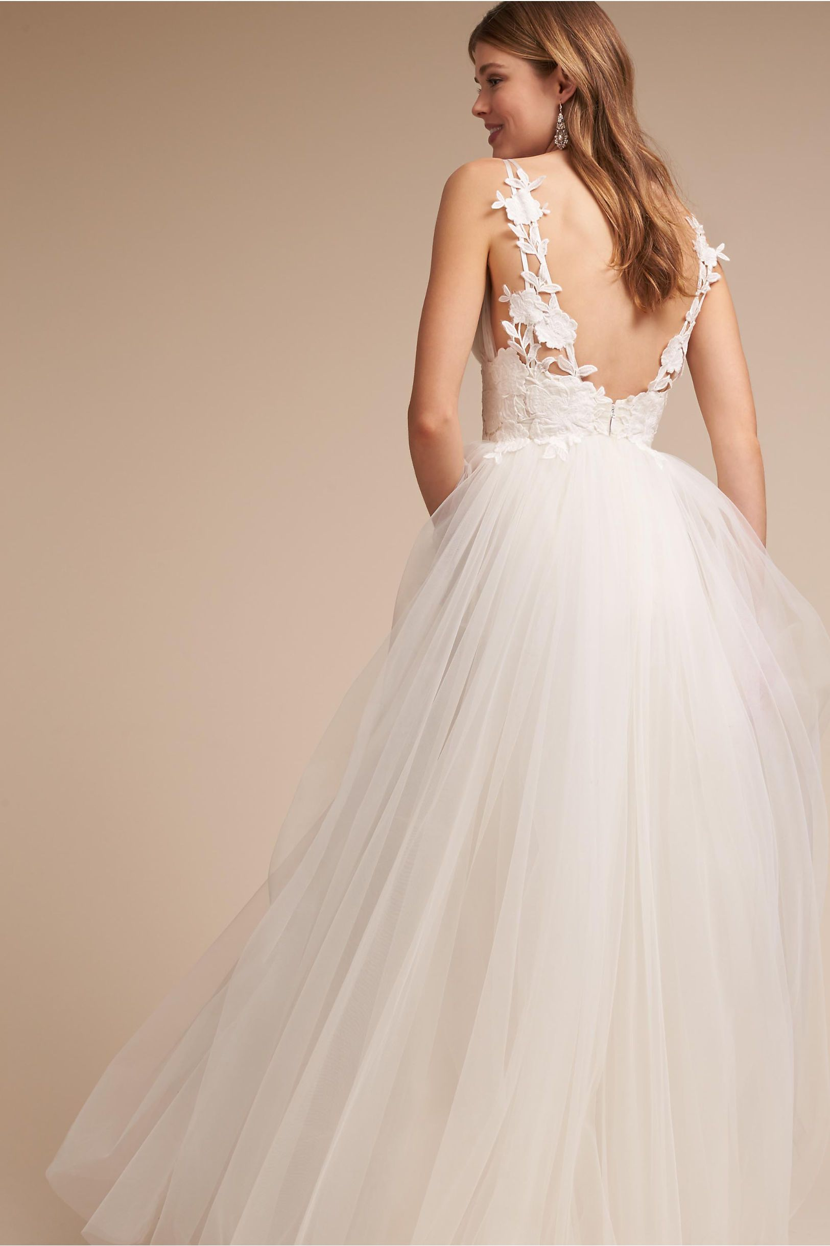 deccbf6e543 BHLDN s Catherine Deane Melrose Gown in Ivory