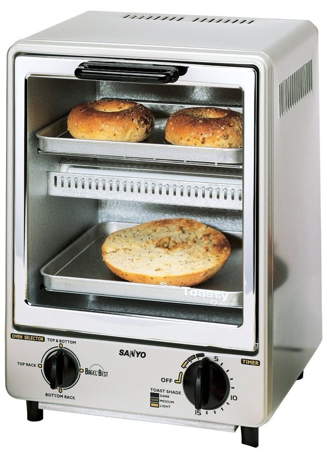 This Super Compact Toaster Oven Isn T Just For Bachelors Modern
