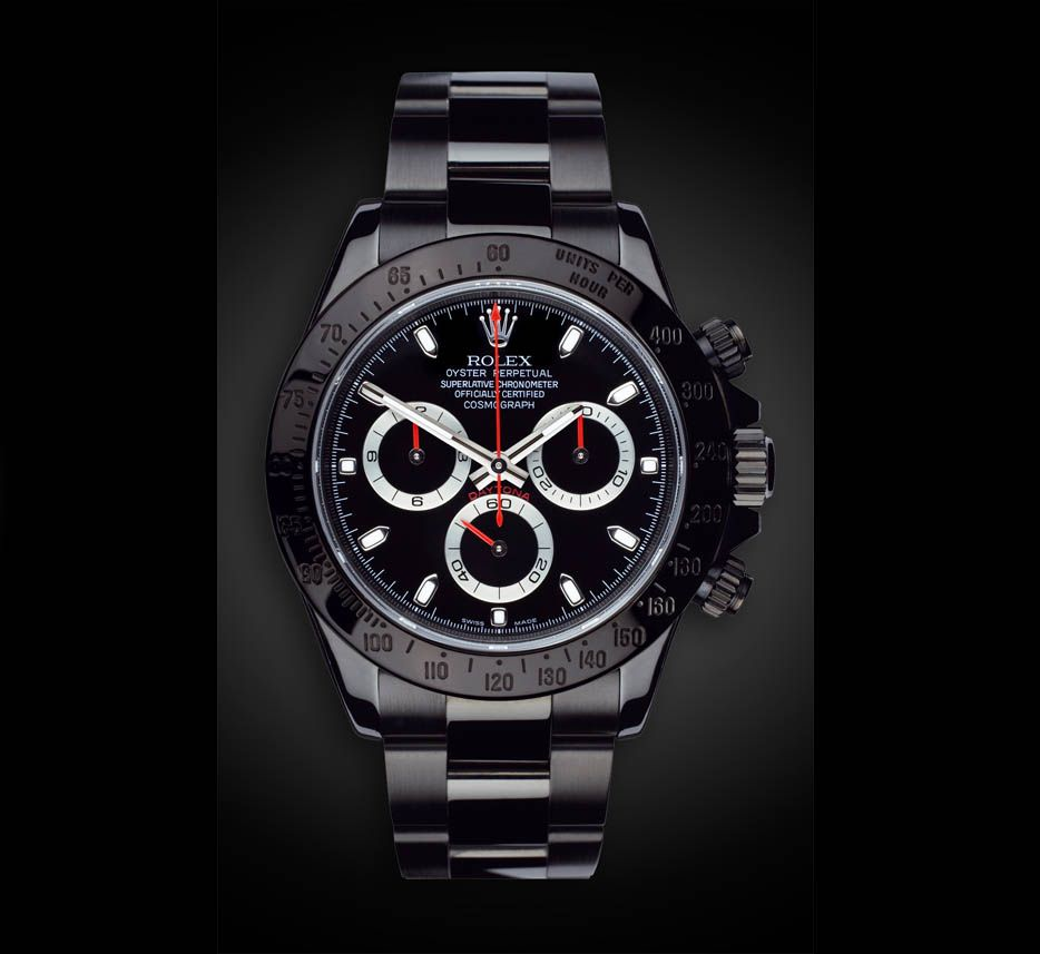 156b37c6a83 Black Diamond! Rolex Daytona Limited Edition