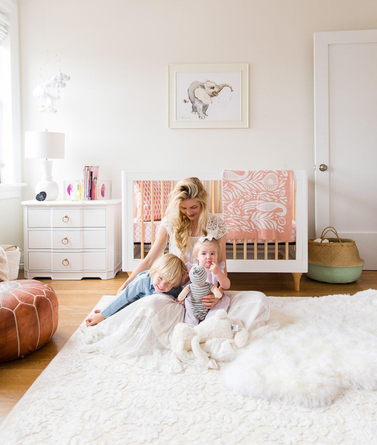 Suburbs Mama Nursery In Master Bedroom: Apartment Reveal: Rosie's Nursery + Master Bedroom!
