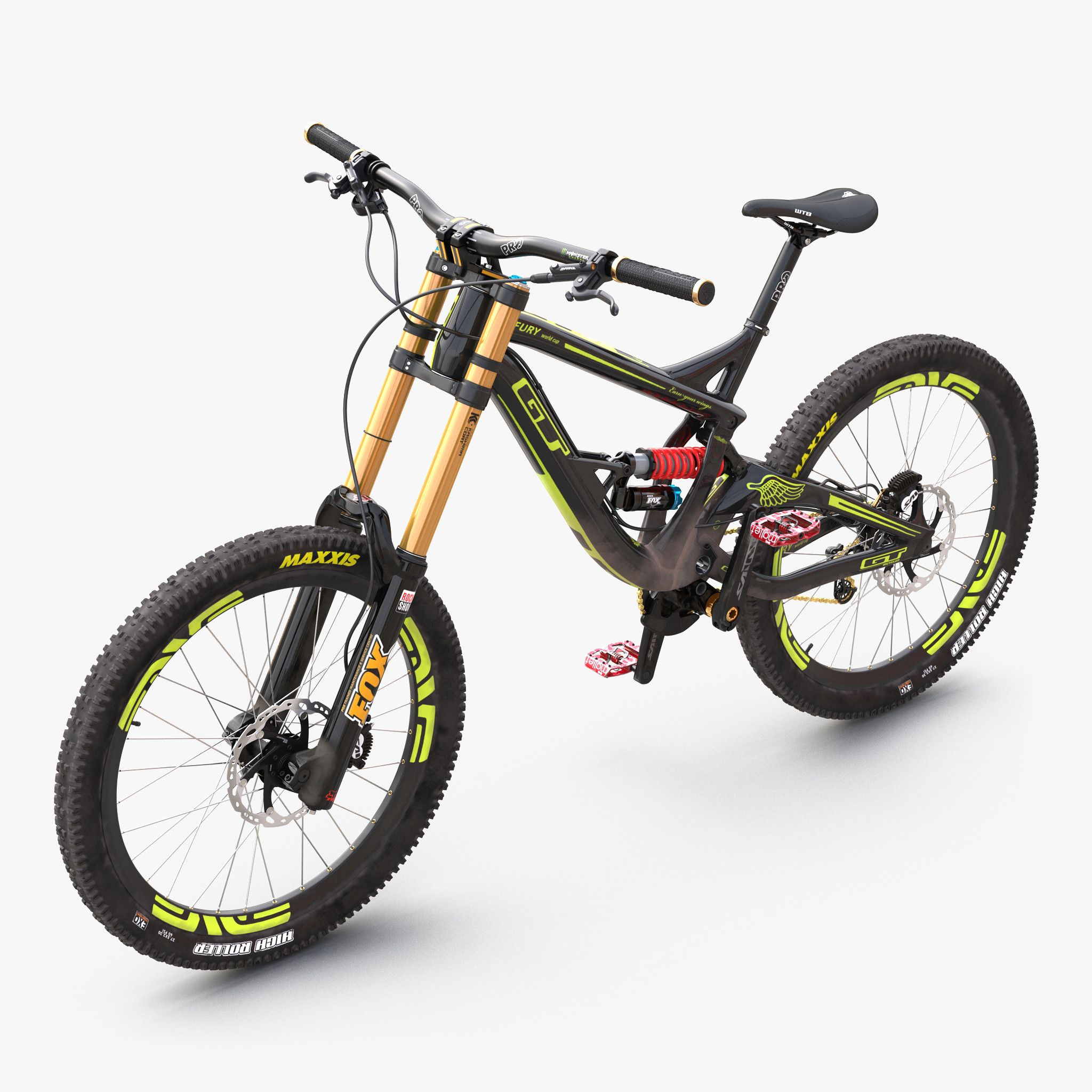 36b531f409e 3d mountain bike gt fury model | Kool Bicyclez | Gt mountain bikes ...