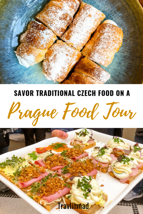 Savoring the Best Czech Food in Prague on the Taste of Prague Food Tour — Travlinmad food and travel blog