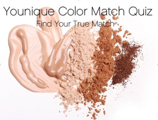 Younique Color Match Quiz Find your shade of Touch