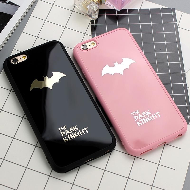 Cool dark kinght batman phone cover for iphone x 6 6s 7