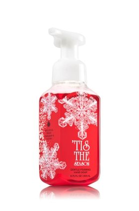 Tis The Season Gentle Foaming Hand Soap Bath Body Works