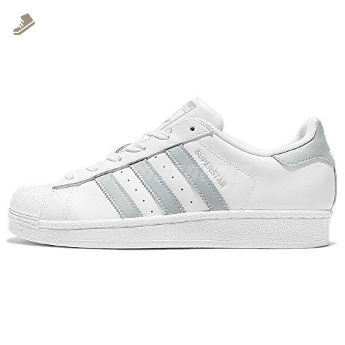 f02b802059e Adidas Superstar White Pastel Green White (Womens) (6 B(M) US) - Adidas  sneakers for women ( Amazon Partner-Link)