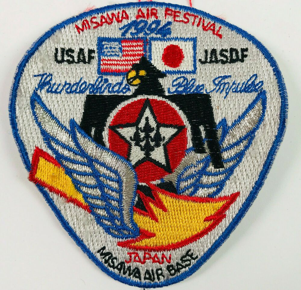 US Air Force JASDF Misawa Air Base Japan 1994 Patch in