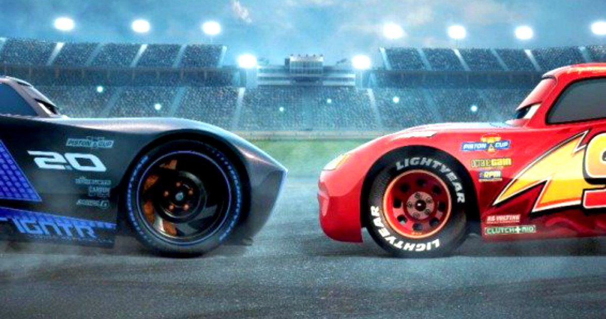 Cars 3 Posters Pit Lightning McQueen Against New Millennial Racers