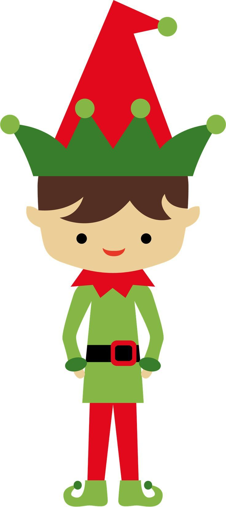 minus say hello ilustra christmas elf clip ward christmas party rh pinterest com free printable christmas clipart borders free printable christmas clipart black and white