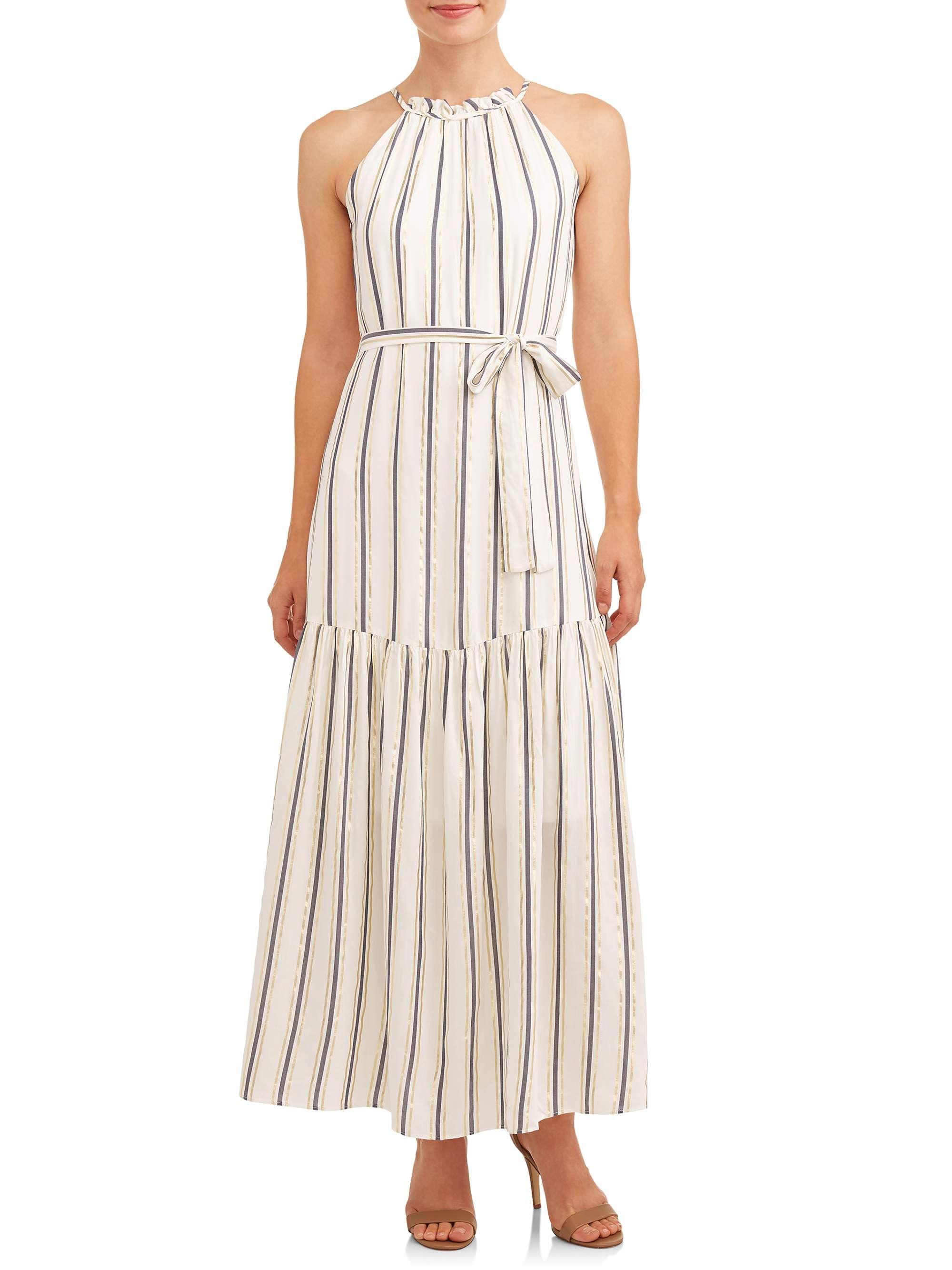 Eci Eci Women S Maxi Lurex Dress Walmart Com Lurex Dress Maxi Dress Cocktail Women Maxi [ 2667 x 2000 Pixel ]