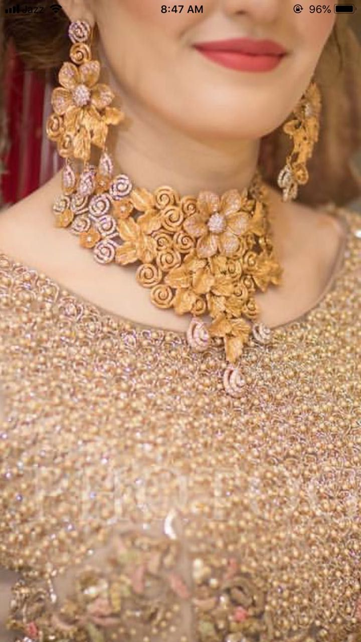 Pin By Soufiath Nisha On Free Download Bridal Gold Jewellery Gold Jewelry Fashion Jewelry Design Necklace