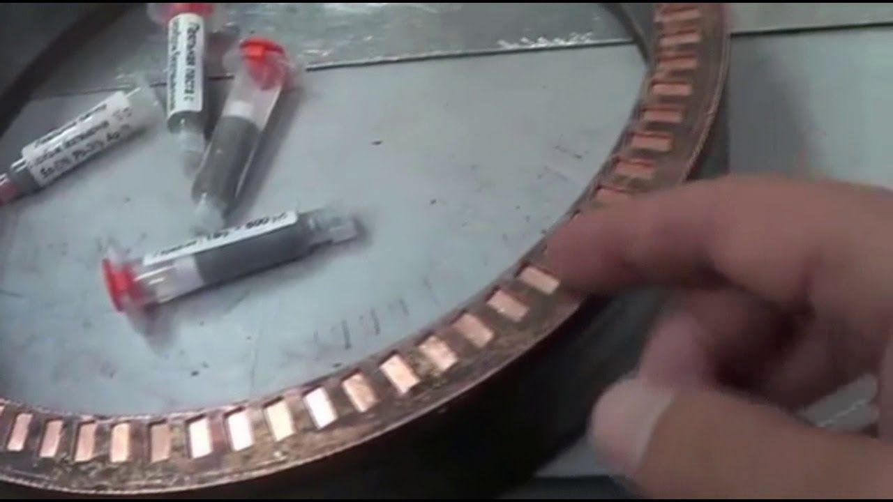 Асинхронный двигатель с совмещёнными обмотками.