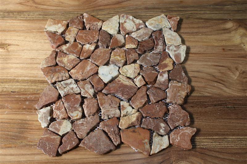 1 Matte Bruchmosaik Choco Mosaik Marmor Naturstein Fliesen Boden Wand Restposten  Zeitgeist