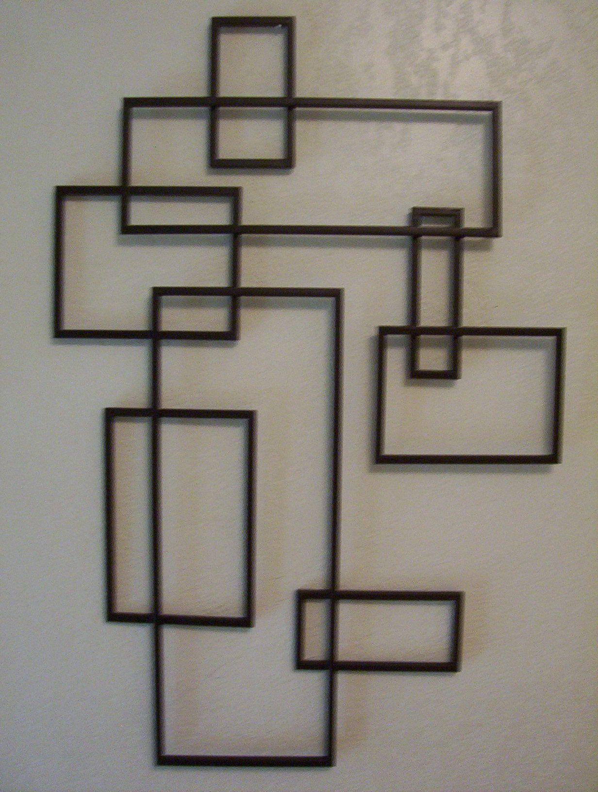 835967982e58 Posts about Modern Wall art written by. Mid Century Geometric Metal  Sculpture- De Stijl ------but BIGGER!