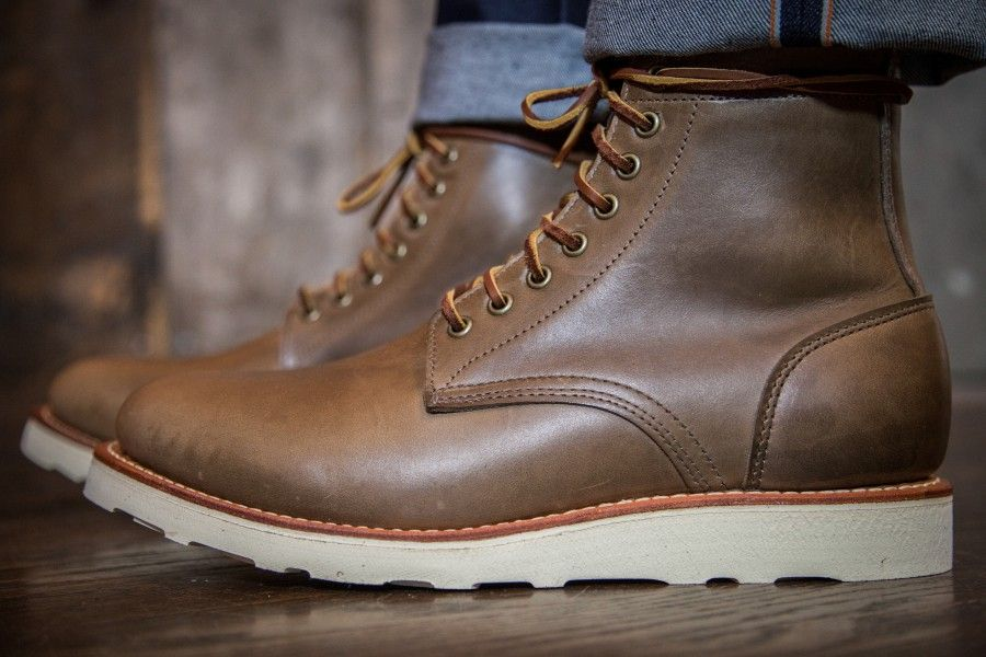 480f2ae0230 Oak Street Bootmakers Vibram Sole Trench Boot