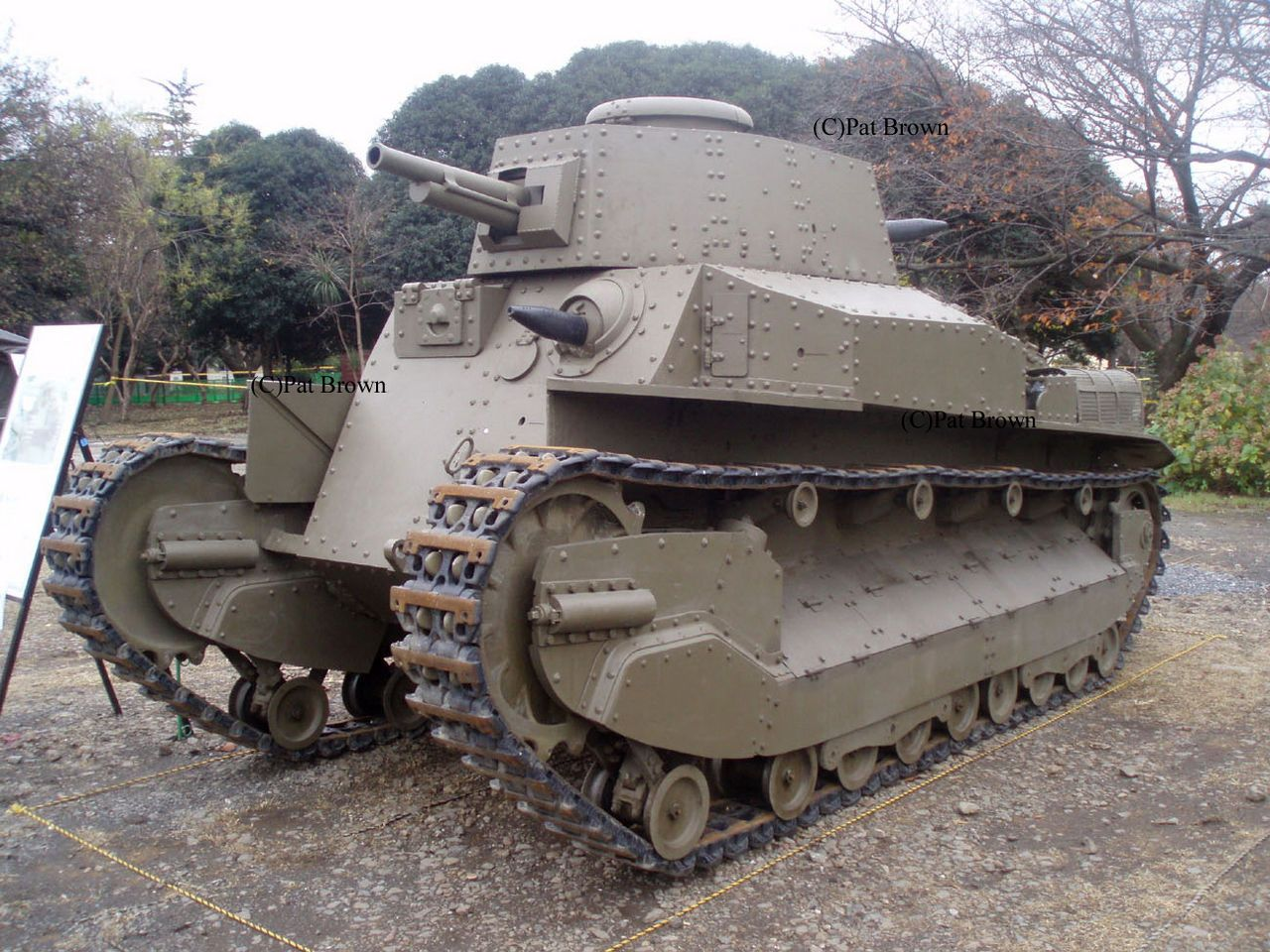 The Type 89 medium tank I-Go (八九式中戦車 イ号 Hachikyū-shiki chū-sensha I-gō?) was a medium tank used by the Imperial Japanese Army from 1932 to 1942 in combat operations of the Second Sino-Japanese War, at Khalkhin Gol against the Soviet Union, and in the Second World War. The Type 89B model was the world's first mass produced diesel engine tank...