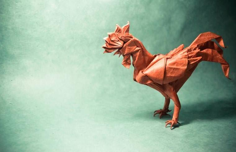 Amazing Origami Animals By Gonzalo Garcia Calvo