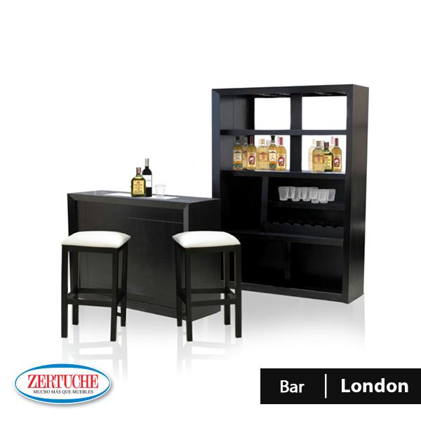Bar london estilo moderno en madera y chapa de banack en for Bar madera moderno