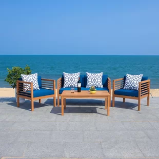Modern Outdoor Furniture Decor Allmodern In 2020 Conversation Set Patio Outdoor Sofa Sets Seating Groups
