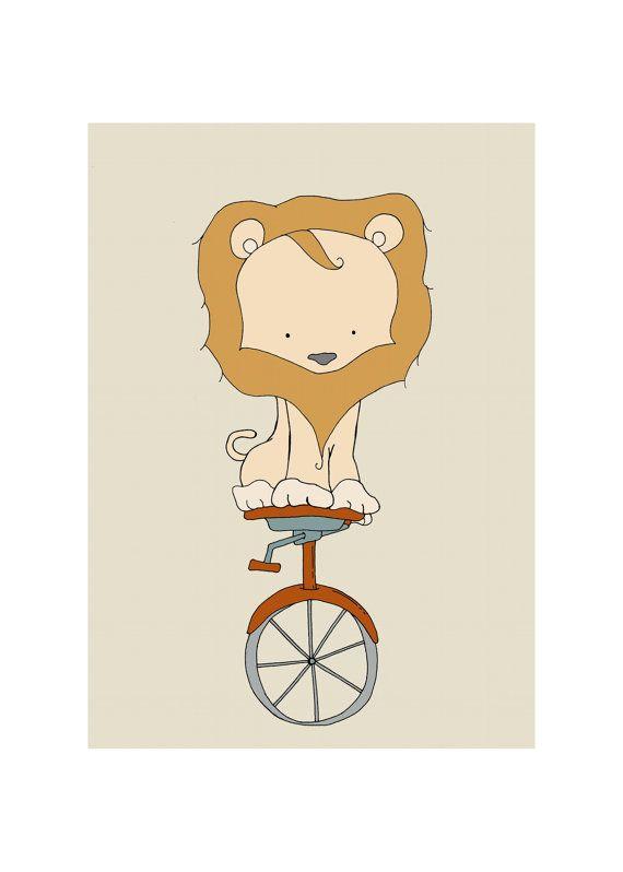 Nursery Art Print Circus Nursery Decor Baby by ...