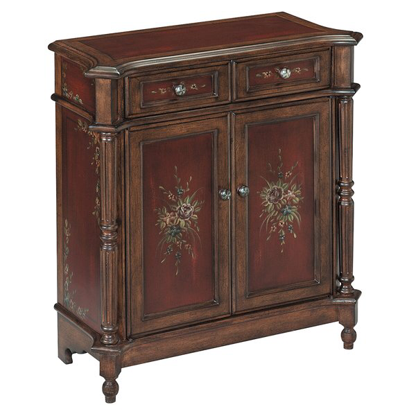 Best Cedar Grove 2 Drawer Burgundy Accent Chest Furniture In 640 x 480