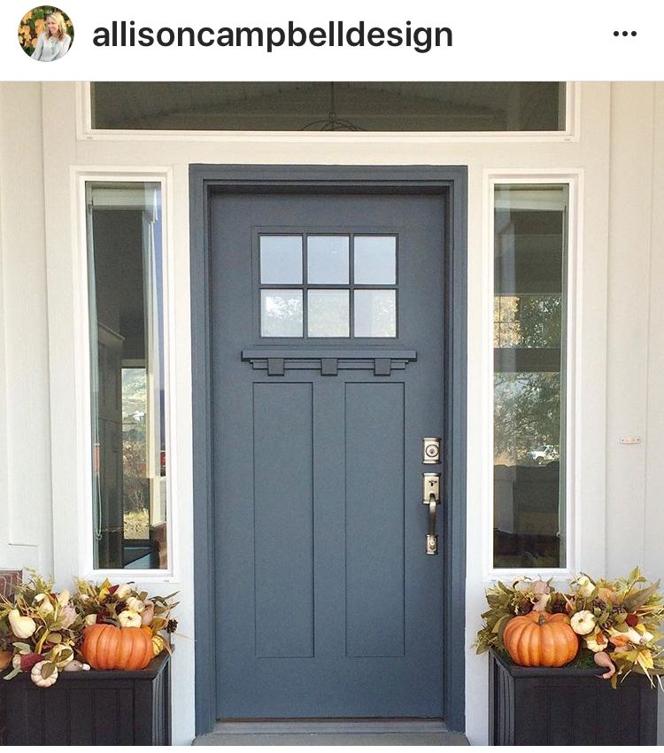 grays harbor by sherwin williams front porch house paint exterior exterior paint colors for. Black Bedroom Furniture Sets. Home Design Ideas