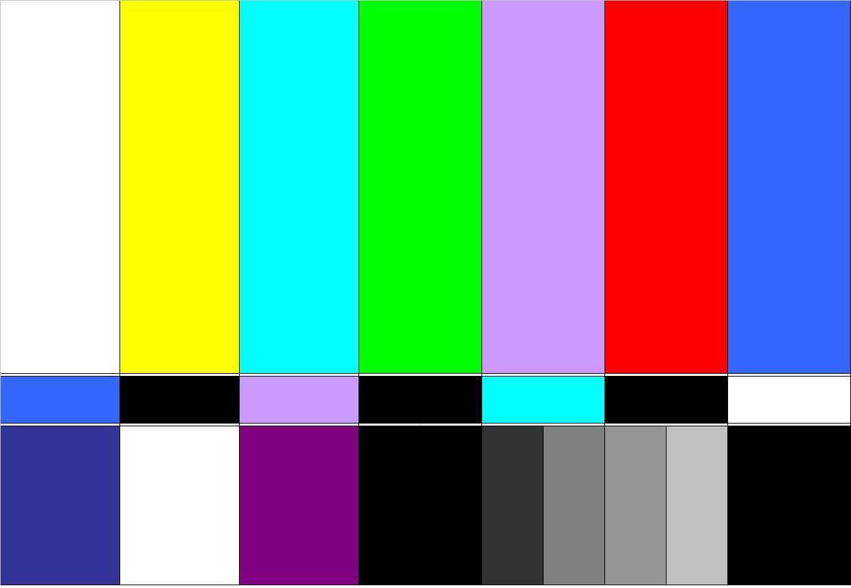 Rbtv Tv Color Bars Youtube Design Old School Film Color