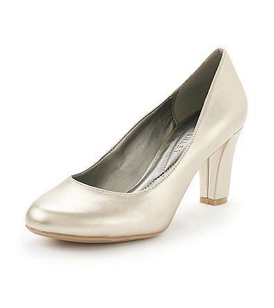 Product Laura AshleyR Faber Dress Pumps Champagne Classic PumpsWedding ShoesWedding ReceptionLaura AshleyChampagneWedding SlippersBridal Shoe