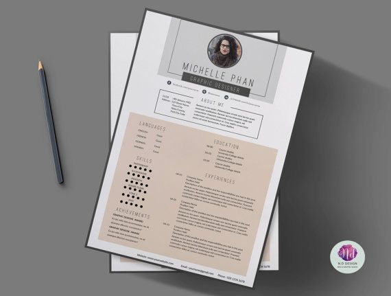 Resume template \/ CV template , cover letter template , reference - resume reference template